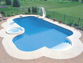 How much is an inground pool inground pool costs for Inground pool pics