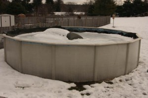 How to drain an above ground pool for winter