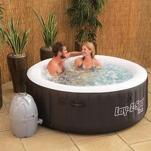 Best way Lay-Z-Spa Miami Portable Inflatable Hot Tub