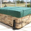 CoverMates Rectangular Spa Cover - Cap 92W x 82D x 14H Classic Vinyl