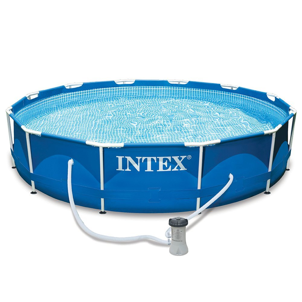 Piscine intex ultra frame max min for Piscine intex