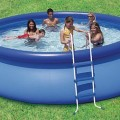 Summer Escapes 15 x 42 Quick Set Swimming Pool Set