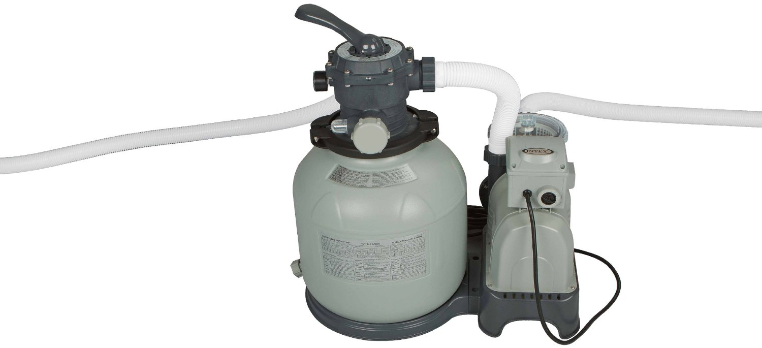 5 best above ground pool filter systems pool university for Best above ground pool pump