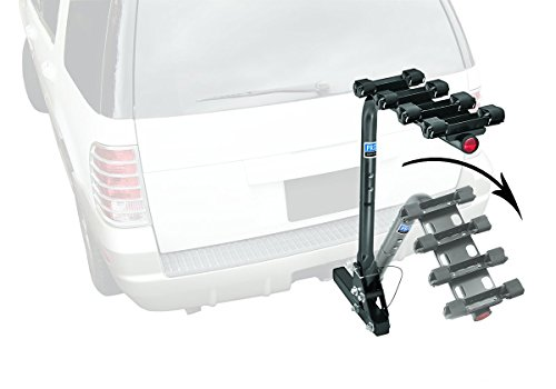 Pro-Series 63124 Eclipse Black 2-Inch Sq. 4 Bike Carrier