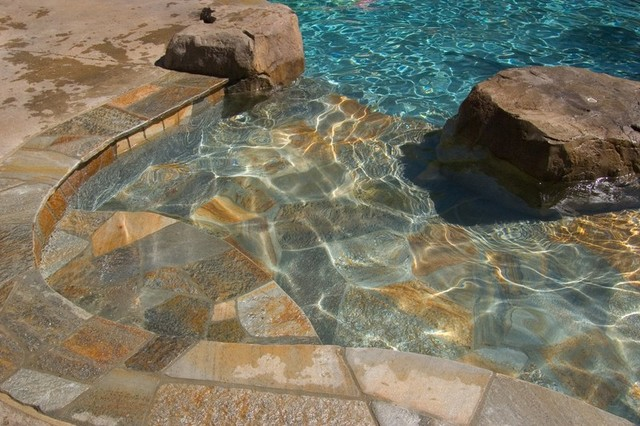 Natural Stone Tile Finish