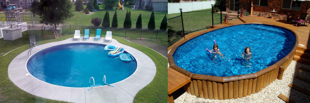 In-Ground vs Above Ground Pools