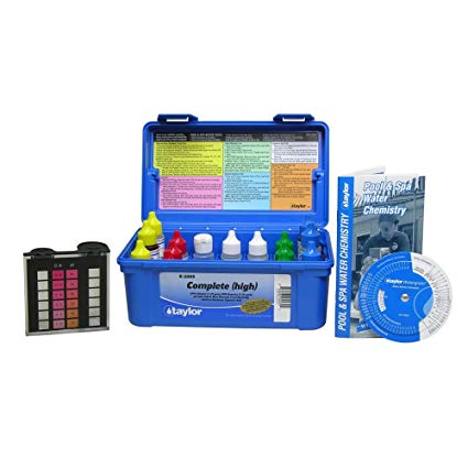 Taylor Deluxe DPD Pool Water Test Kit - K-2005
